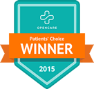 Patients' Choice Award Winner 2015